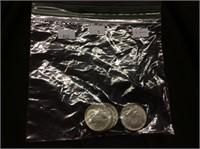 5 Silver Kennedy Half-dollars