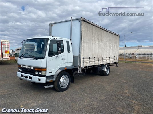 2000 Mitsubishi Fuso FK600 Carroll Truck Sales Queensland - Trucks for Sale