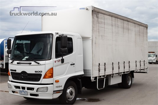 2009 Hino 500 Series 1024 FD - Trucks for Sale