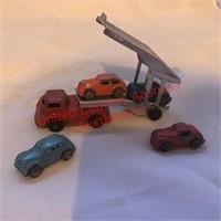 Dinky Car Carrier w/4 Cars