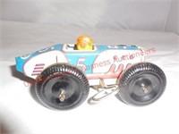 Vintage Tin Wind Up Marx Race Car