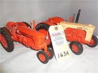 Ertl Case 600 & SC Case Tractors-1:16th scale