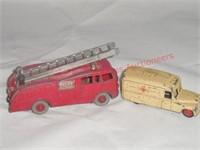 Dinky –Fire Truck & Ambulance