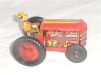 Marx Tin Wind Up Tractor