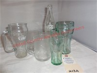 Coca-Cola Bottles/Mugs /Glasses