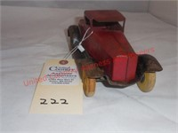 Wyandotte Tin Car