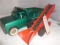 Structo Dump Truck & Tonka Sand Loader