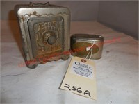 Cast Iron Coin Deposit & 1st State Bank of
