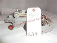 Vintage Allis Chalmers-Cleaner combine