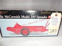 Precision McCormick Deering Manure Spreader