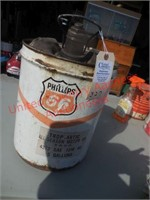 Classic Phillips 66 5 gallon gas can