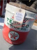 Classic Texaco 5 gal. gas can