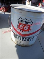 Classic Phillips 66 lubricant can