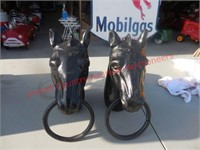 Cast Iron Horses for hitching post