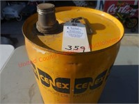 Classic Cenex 5 gal. gas can