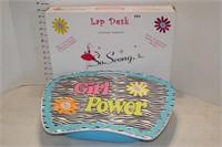 Girl Power Lap Desk