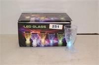 Led Shot Glasses set of 12