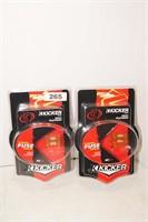 Kicker Maxi Platinum Fuse Max 140 - 40 amp - x2