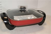 Electric Skillet - Red