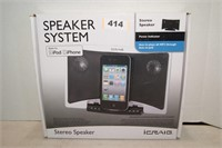 Ipod/Iphone Stereo Speaker System or MP3 Player