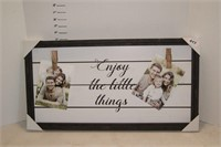 Enjoy the Little Things Picture Frame