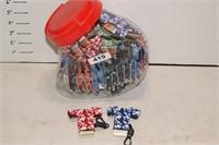 Handy Clip Lighter/Lipstick holder container
