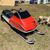 1976 Scorpion 400 Range Whip Snowmobile