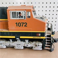 """BNSF 1072 Election Train, 30"""", Very Detailed"""