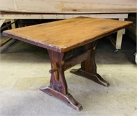 Pine Pub Table, Matches Lot #76