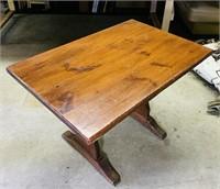 "Pine Pub Table, 44"" x 30"" x 29"" h, 1.5"" thick top"