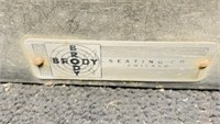 Vintage Brody Corner Booth, Booth is nice