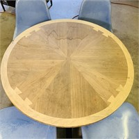 4 Person Table, Fiberglass Swivel Seats