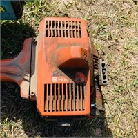 3 gas weed wackers, Craftsman chainsaw,