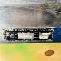 Star Manufacturing Popcorn Machine, needs work,