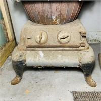Potbelly Stove by Tobasco Hardwick Stove Co,