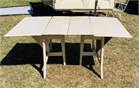 Haywood Wakefield Table, needs some hinges