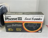 NOS Phase 3 Speakers