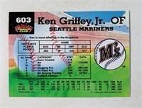 Ken Griffey Jr #603 Baseball Card