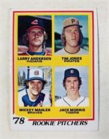 1978 Rookie Pitchers #703 Baseball Card