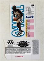 Shaquille O'Neal #149 NBA Card