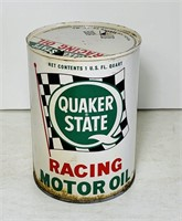 Quaker State Racing Motor Oil Can, 1 Quart