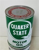 Quaker State FULL 1qt  Oil Can
