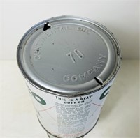 Conoco Super Motor Oil 1 Quart Oil Can