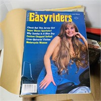 1980's Easy Riders Magazines and VHS Movies