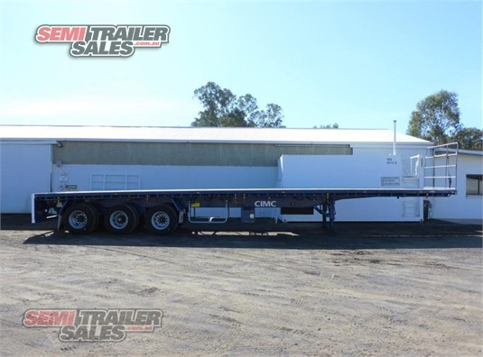 2016 Cimc Flat Top Trailer Semi Trailer Sales - Trailers for Sale