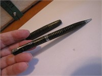 Vtg Parker Vacumatic Fountain Pen & Pencil Set