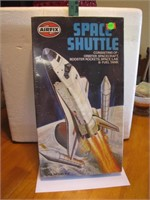 Vtg Airfix Space Shuttle Model Kit Unopened