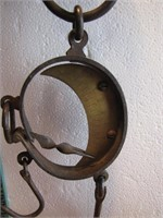 Antique Germany Hanging Scale weights up to 300lbs