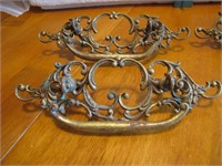 Antique Ornate Drawer Pulls Set of 4