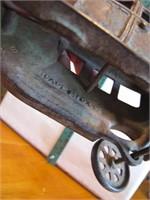 Antique Arcade  Cast Iron Car (needs rear wheel)